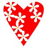 Трафареты сердца