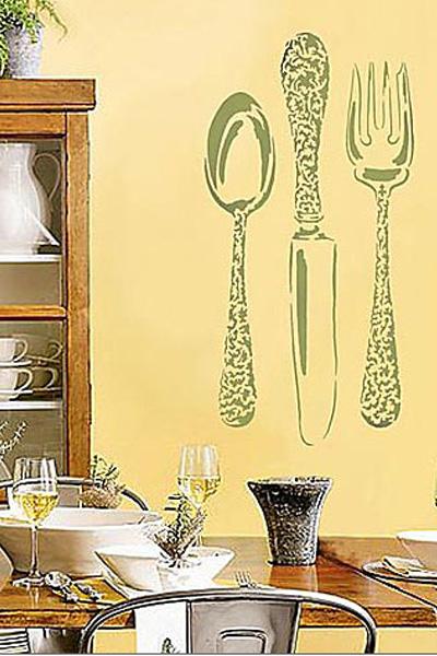 Трафареты для кухни