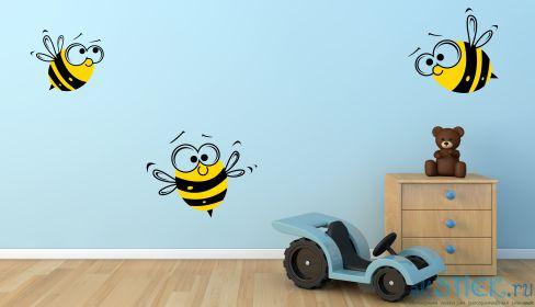 Трафарет на стену в детскую своими руками