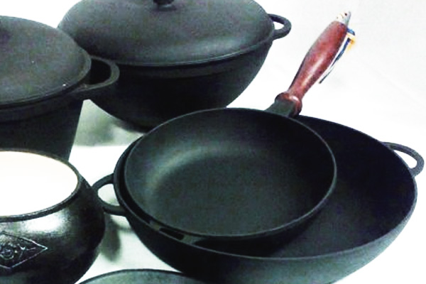 Любимая чугунная сковородка без проблем