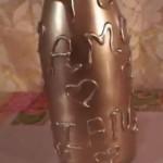 Декорирование бутылки