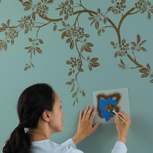 Как сделать рисунок на стенах