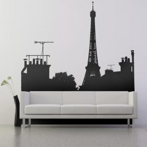 Создание рисунков на стенах комнаты