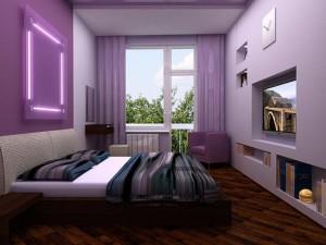 Ремонт спальни с особым вкусом