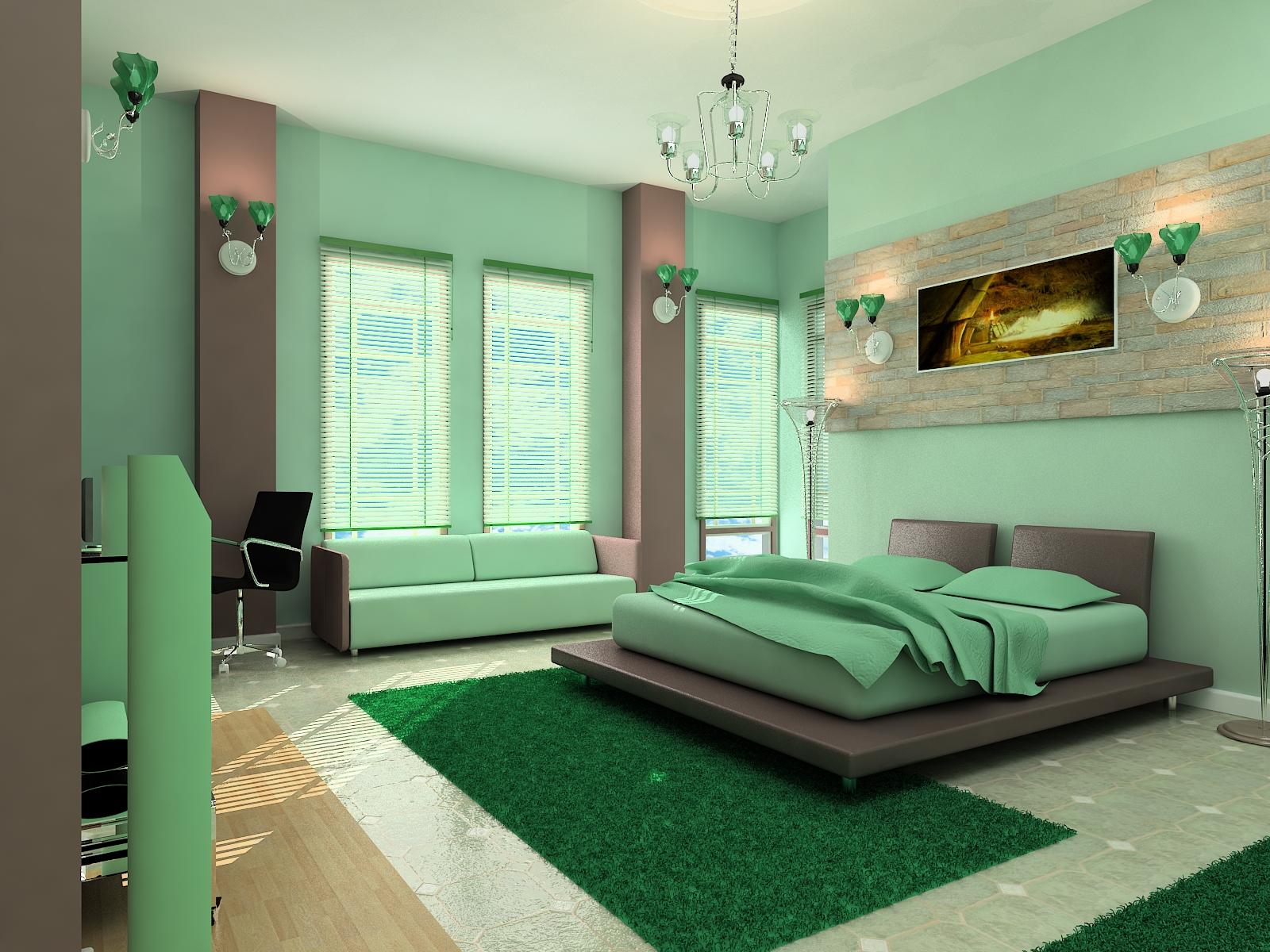 Цвет спальни фото