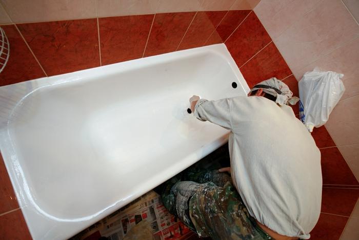 Установка ванной в ванной комнате своими руками