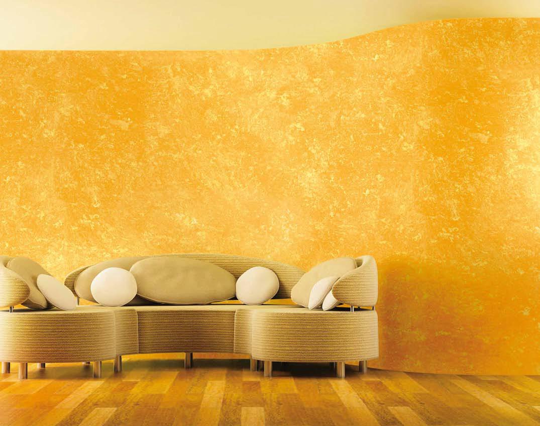 Декорирование стен и потолков с помощью губки