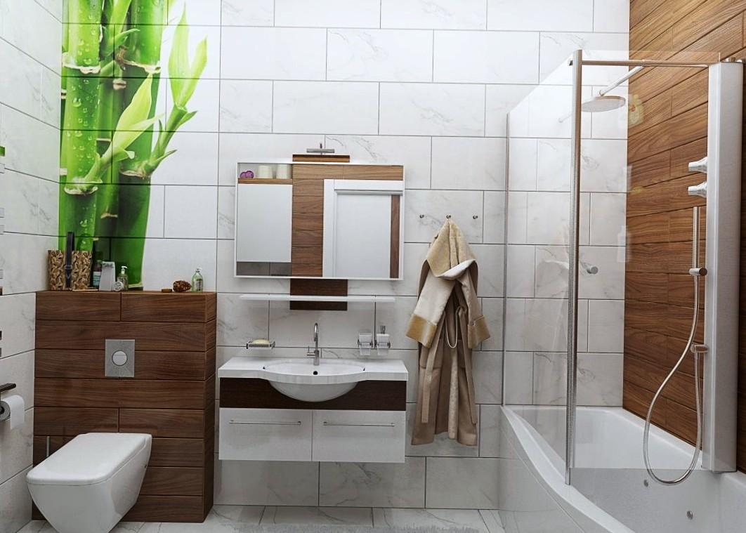 Как лучше сделать ванную более свежей и современней