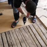 Укладка ламината поверх деревянного пола