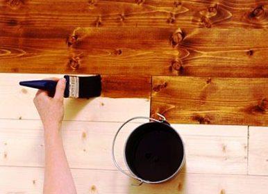 Самостоятельная покраска деревянного пола