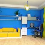 Как надёжно покрасить стены в детской
