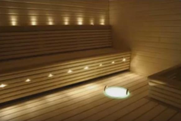 Светильники в баню своими руками