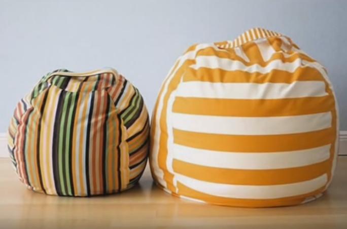 Удобное кресло-мешок своими руками
